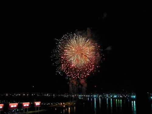 Fireworks Tet Saigon
